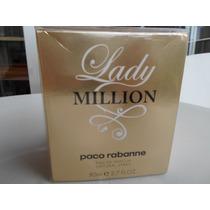 Perfume Lady Million Edp Paco Rabanne Fem 80ml 100% Original