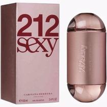 Perfume 212 Sexy Fem Carolina Herrera Lacrado Original 100ml
