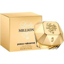 Perfume Importado Original Lady Million 80ml Feminino