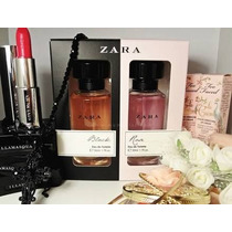 Perfume Zara Feminino (promoção) Black E Rose 2x 50ml