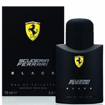 Perfume Scuderia Ferrari Black 125ml Original E Lacrado