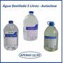 Água Destilada Galão 5 Litros - Autoclave