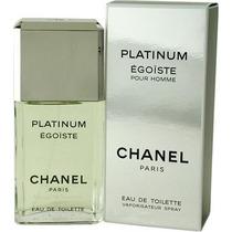 Chanel Egoiste Platinum Eau De Toilette Masculino 100ml