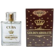 Perfume Masculino Cuba Golden Absolute - Inspiração Malbec