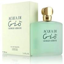 Perfume Feminino Armani Acqua Di Gio 100ml Frete Grátis Edt