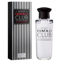 Perfume Select Diavolo Club 100ml For Men Antonio Banderas !