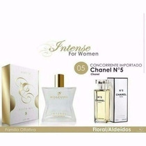Perfume Chanel Nº 5 Feminino Fragancia Boulevard Monde 100ml