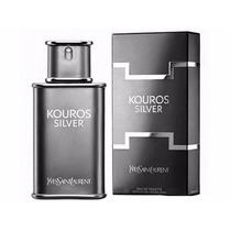Perfume Kouros Silver 100ml Yves Saint Laurent 100% Original