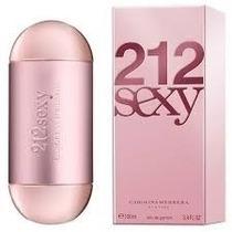 Perfume 212 Sexy Feminino Eau De Parfum 100ml - Original