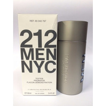 Perfume Carolina Herrera 212 Men 100ml Masculino | Tester