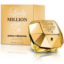 Perfume Feminino Paco Rabanne Lady Million Edp 80ml
