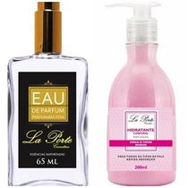 Kit Perfume E Hidratante Inspiração Angel Feminino