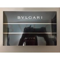 Perfume Bvlgari Aqua 100ml + Necesser + 2 Produtos Original