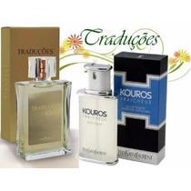 Perfume Kouros Yves Gold 02 Masculino Moderado 100 Ml Hinode