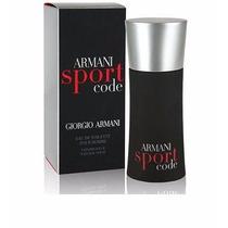 Perfume Importado Armani Code Sport Masculino Eau De Toilett