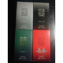 Promoção: 4 Perfumes Linha Men