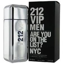Perfume 212 Vip Men Carolina Herrera 100ml Importado