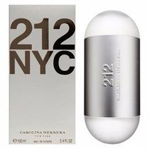 Perfume 212 Nyc Feminino- Edt- 100ml- Carolina Herrera-u.s.a