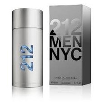 Perfume 212 Men Nyc Carolina Herrera 100ml -lacrado & Origin