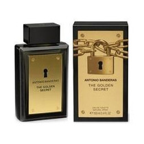 The Golden Secret Antonio Banderas Edt 100 Ml - Original