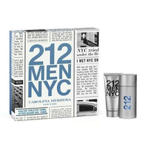 Kit 212 Men Nyc Edt 100ml + After Shave Gel 100ml Carolina H
