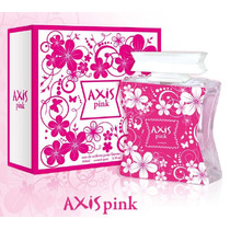 Axis Pink Feminino 100 Ml Edt - Original.