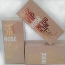 Perfume 212 Vip Rosé Fem C. Herreira 80ml - Importado Usa