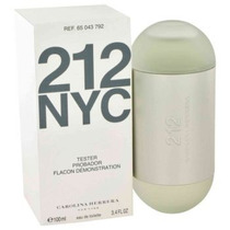 Perfume 212 Nyc Fem 100ml Carolina Herrera Tester Original