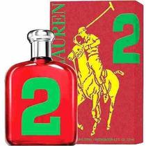 Perfume Polo Big Pony Red 2 Edt 125ml Masc. Frete Grátis.