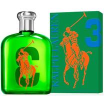 Perfume Polo Big Pony Green 3 Edt 125ml Masc. Frete Grátis.