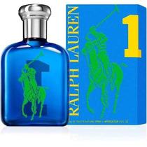 Perfume Polo Big Pony Blue 1 Edt 125ml Masc. Frete Grátis.