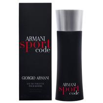 Perfume Armani Sport Code Giorgio Armani Eau Toilette 125ml
