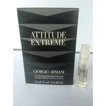 Amostra Perfume Giorgio Armani Attitude Extreme Edt 1,5 Ml