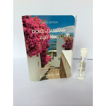 Amostra Perfume Dolce& Gabbana Light Blue Escape To Panarea