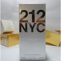 Perfume 212 Nyc Fem 100ml Carolina Herrera Importado