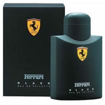 Perfume Ferrari Black 125ml - Com Selo Da Ferrari Original