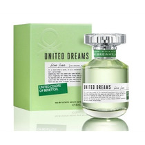 Perfume United Dreams Live Free Feminino 80ml Edt