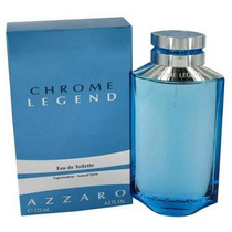 Perfume Azzaro Chrome Legend 125ml Masc Original Lacrado