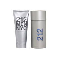 Perfume Masculino 212 Men 100ml + Gel Pós Barba Kit Original