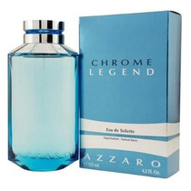 Perfume Azzaro Chrome Legend 125 Ml - Original E Lacrado