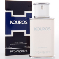 Perfume Kouros 100ml Yves Saint Laurent Importado Original