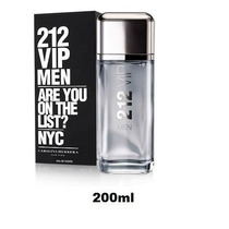 Perfume 212 Vip Men Carolina Herrera 200m - Original Import
