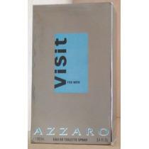 Perfume Azzaro Visit For Men Edt 100 Ml - Original Lacrado