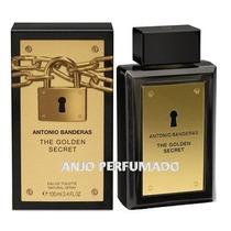 Perfume Masculino The Golden Secret Antonio Banderas 100ml