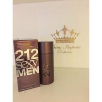 Perfume 212 Sexy Men 100 Ml - Original E Lacrado -