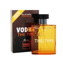 Perfume Masculino Paris Elysees Vodka The Time 100ml Lacrado