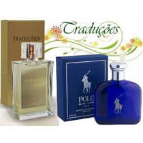 Perfume Importado Polo Blue 100ml Gold29 Hinode Frete Grátis