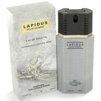 Perfume Ted Lapidus Pour Homme Edt 100ml Original Lacrado