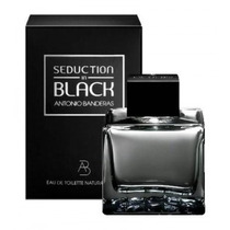 Perfume Importado Antonio Banderas Seduction In Black 100 Ml