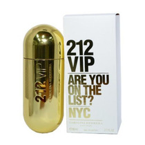 Perfume 212 Vip Fem 80ml Carolina Herrera - Original